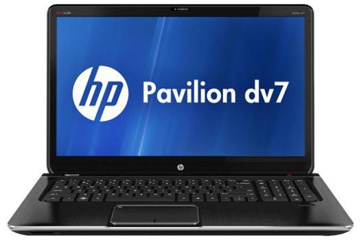 hp pavilion dv7 notebook pc caractéristiques