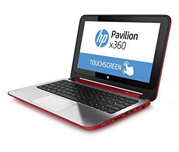 hp pavilion x360 rouge