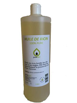 huile de ricin 1 litre