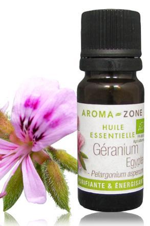 huile essentielle geranium diffusion