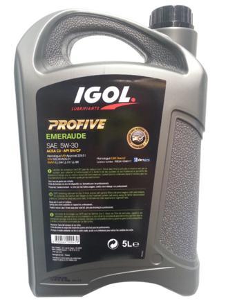huile igol 5w30 diesel