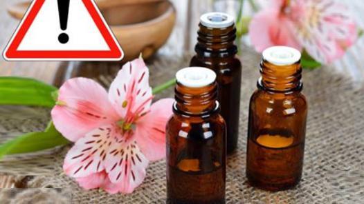 huiles essentielles danger