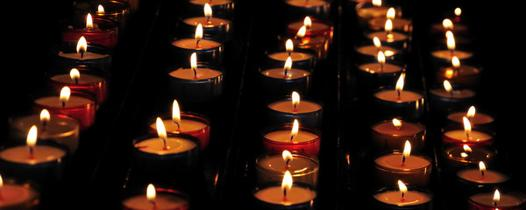 image bougies allumées