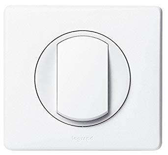 interrupteur celiane blanc