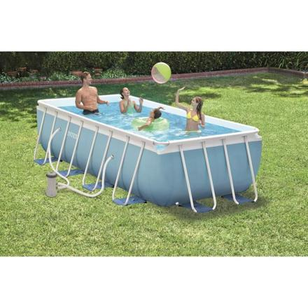 intex piscine tubulaire rectangulaire
