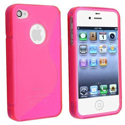 iphone 4s blanc coque rose
