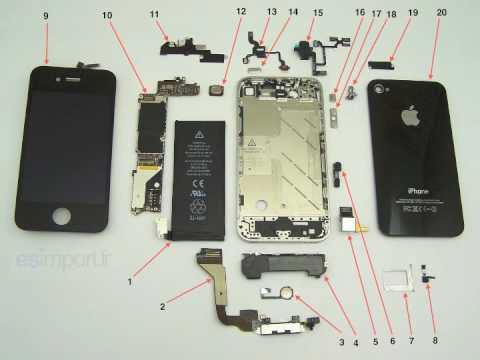 iphone 4s pieces