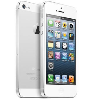 iphone 5 blanc et argenté