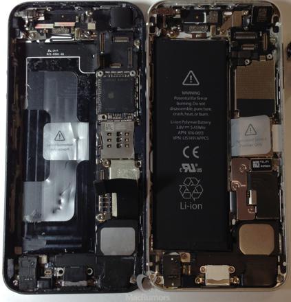 iphone 5s carte mere