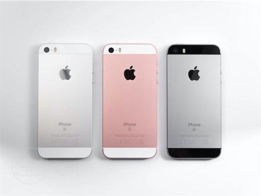 iphone se couleur