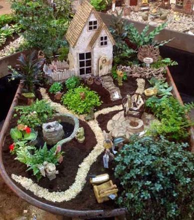 jardin féérique miniature