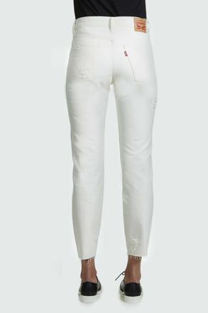 jean blanc femme levis