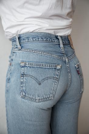 jean levis femme vintage