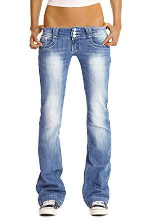 jeans bootcut femme taille basse