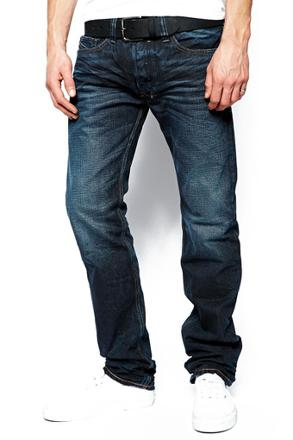 jeans diesel coupe droite homme