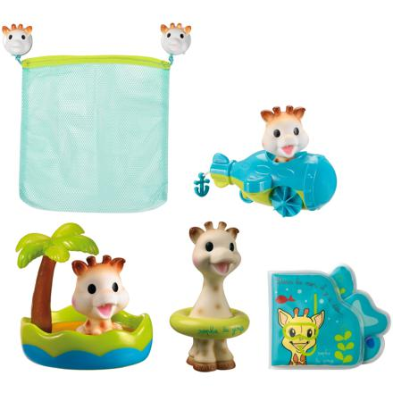 jeu de bain sophie la girafe