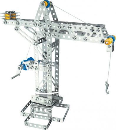 jeu de construction métallique meccano
