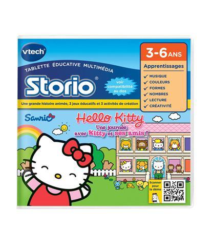 jeu tablette storio