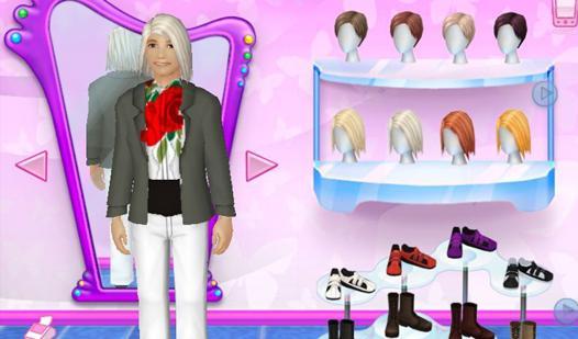 jeux barbie mode