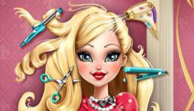 jeux coiffure fille