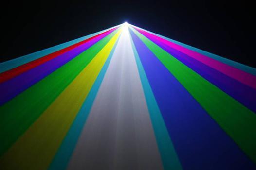 jeux de lumiere laser bleu