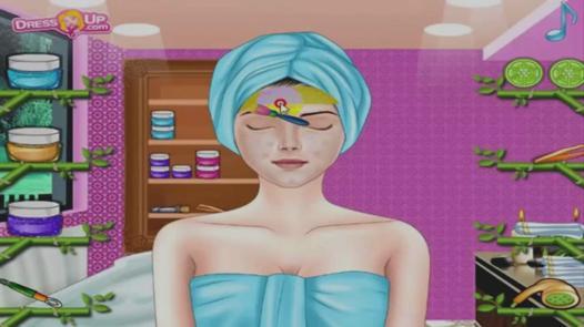 jeux de maquillage et de habillage