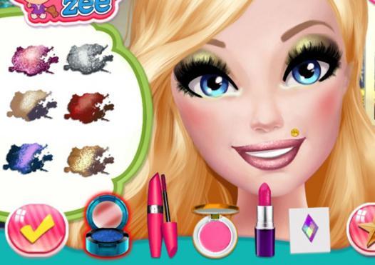 jeux de maquillage professionnel