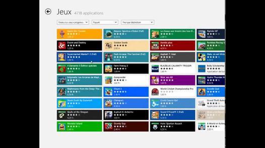 jeux pour windows 8.1