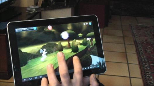 jeux sur tablette samsung