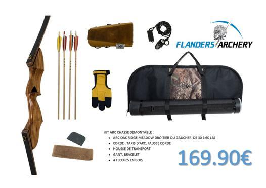 kit arc de chasse