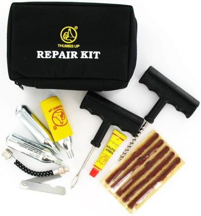 kit de reparation pneu