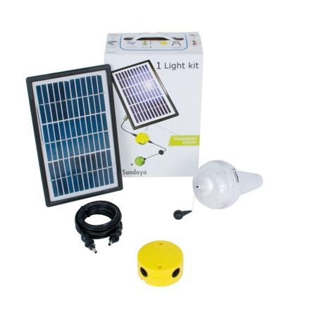 kit eclairage solaire interieur
