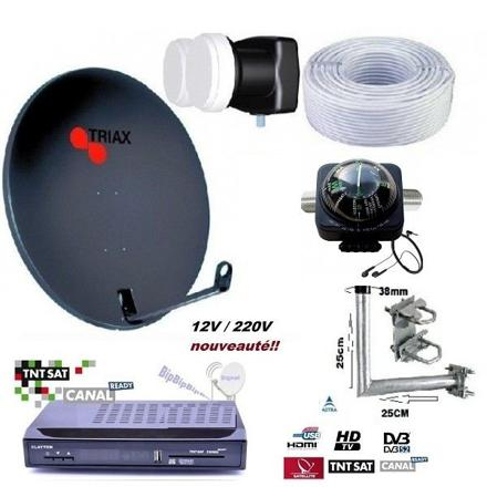 kit parabole satellite