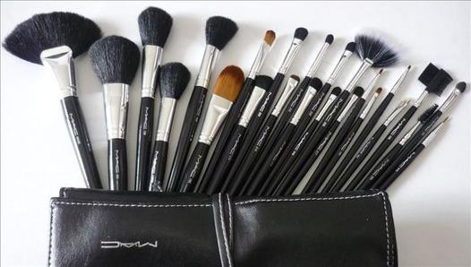 kit pinceaux maquillage mac