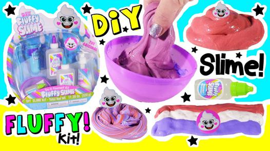 kit slime fluffy