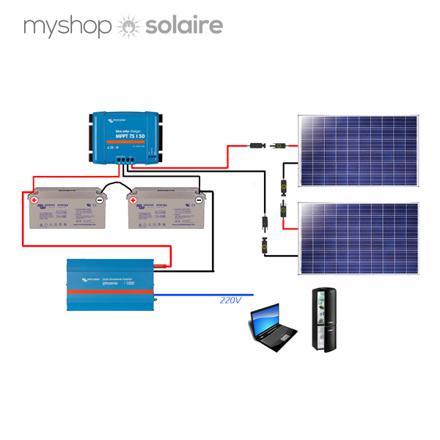 kit solaire 24v