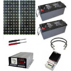 kit solaire caravane