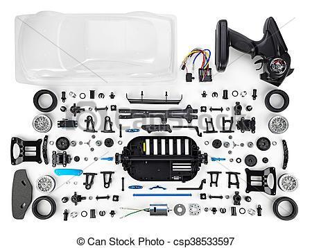 kit voiture rc