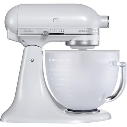 kitchenaid blanc givré