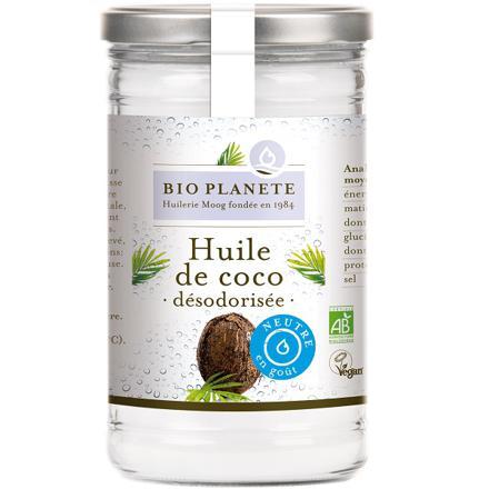 l huile de coco bio