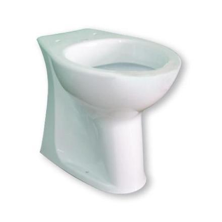 la cuvette des toilettes
