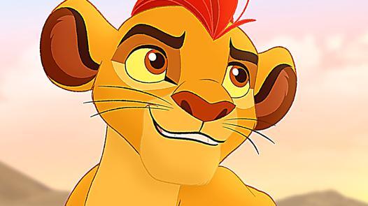la garde du roi lion en entier