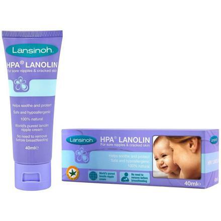lansinoh crème lanoline hpa soin des mamelons 40 ml
