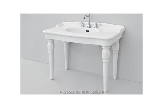 lavabo avec pied