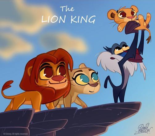 le roi lion swag
