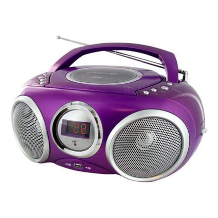 lecteur cd violet