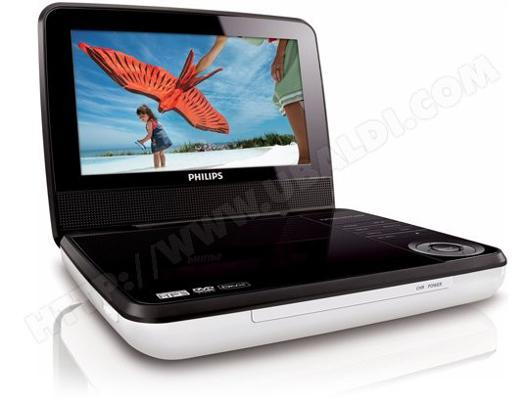 lecteur dvd portable philips pd7030