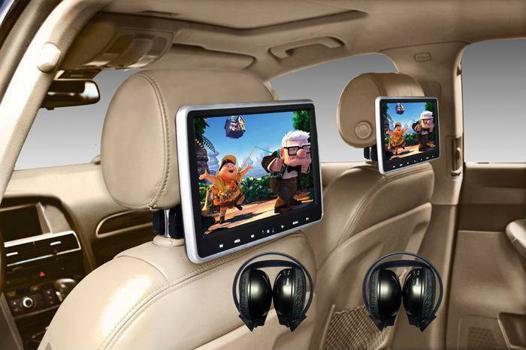 lecteur dvd voiture 2 ecrans