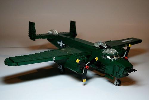 lego avion militaire