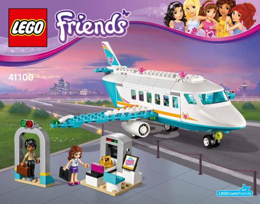 lego friends l avion